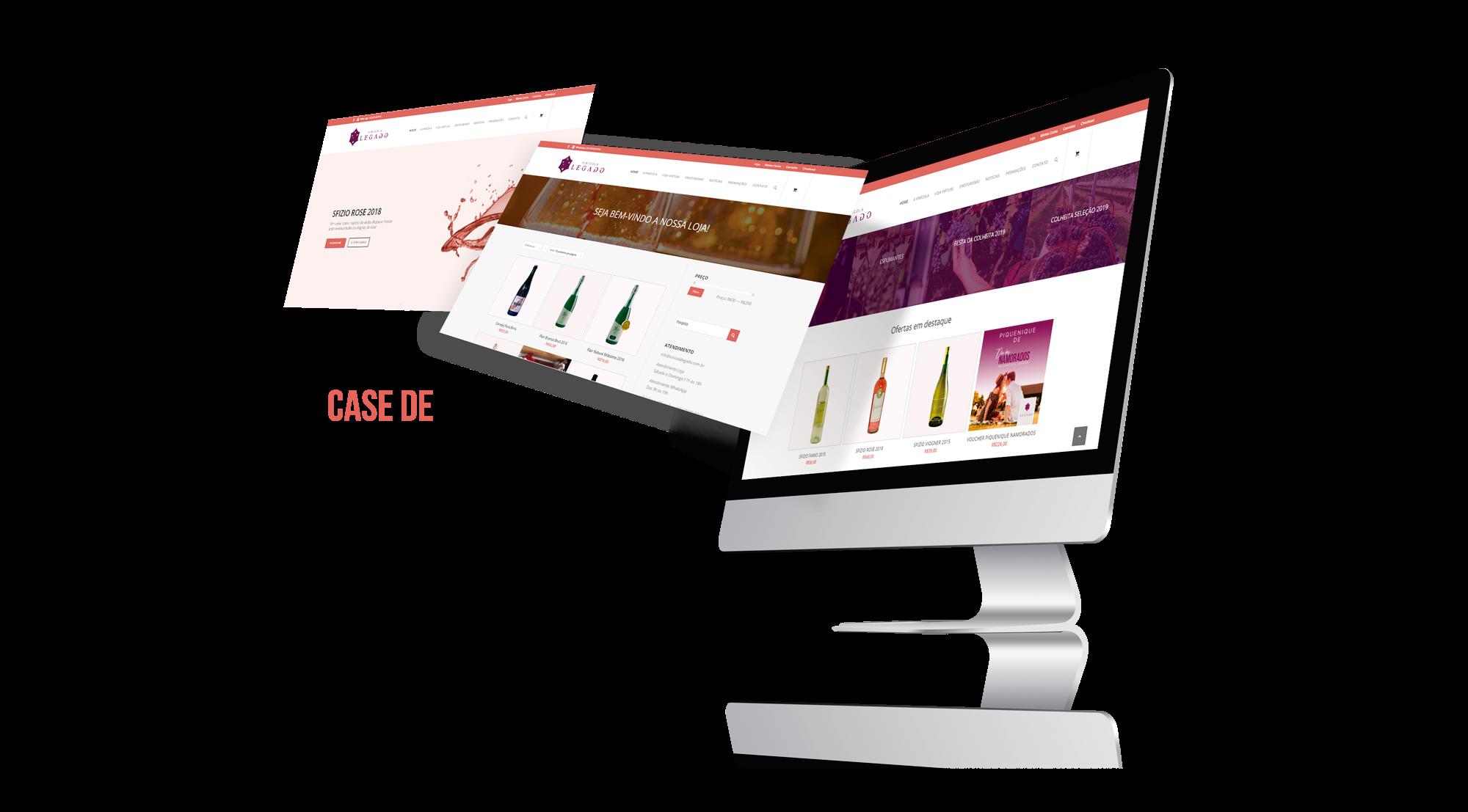 E-commerce Vinícola Legado