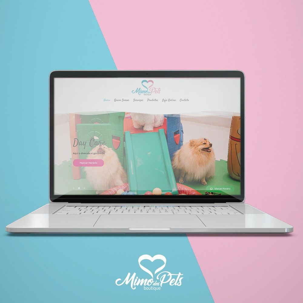 Site Mimo dos Pets