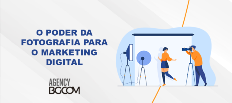 O poder da fotografia para o marketing digital