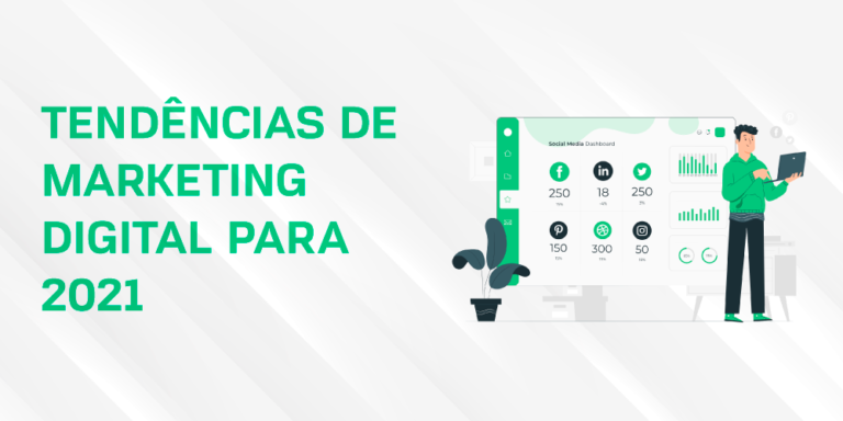 Tendências de marketing digital para 2021